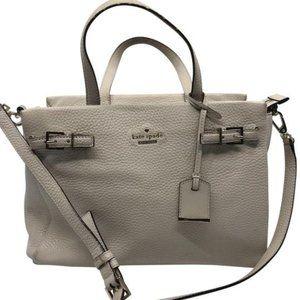 Kate Spade Tan Grain Leather Shoulder Bag